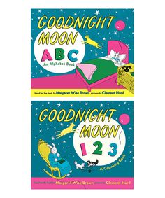 Goodnight Moon ABC & 123 Padded Board Book Set | zulily