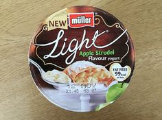 NEW REVIEW: The Limited Edition Müller Light Apple Strudel has hit our shelves. I love apple strudel, to be fair any dessert with pastry is usually a winner with me. #muller #apple #yoghurt #fatfree #review #foodblog #blog