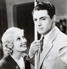 Thelma Todd and Cary Grant in his first film This is The Night 1932
