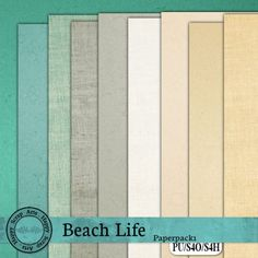 Beach Life paperpack 1