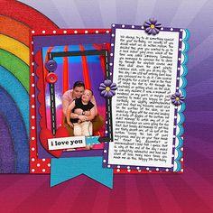 Giant Rainbow Slide by Lukasmummy, via Flickr