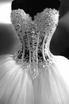 beaded lace wedding gown on sale at reasonable prices, buy Luxurious Bling Strapless Wedding dresses Corset Bodice Sheer Bridal Ball Crystal Pearl Beads Rhinestones Tulle Wedding Gowns from mobile site on Aliexpress Now! Tulle Wedding, Dream Wedding Dresses, Bridal Dresses, Wedding Gowns, Ivory Wedding, Wedding Dresses With Bling, Diamond Wedding Dress, Bridesmaid Dresses, Wedding Dress Corset