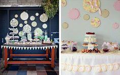 Свадебные тренды: пяльцы в декоре
