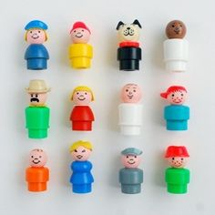 "vintage fisher price ""little people"""