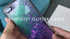 Stardust Liquid Glitter Phone Case - Need a quick mood booster? Get mesmerized by the play of light and colours in this swoon-worthy pho - Glitter Phone Cases, Diy Phone Case, Cute Phone Cases, Iphone Phone Cases, Iphone Case Covers, Usb Gadgets, Apple Products, Diamond Are A Girls Best Friend, Android