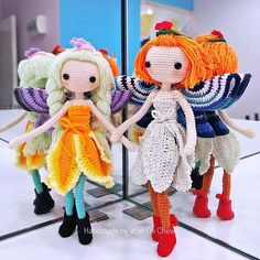 Thanks to pattern tester @wanzhichew . Beautiful fairies. Love both of them ❤️