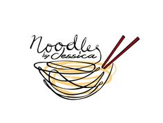Noodles by Jessica Logo Design                                                                                                                                                      More