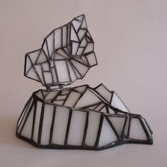 Jewelry box - Free form glas work - Cubist style | 1178designs - Glass on ArtFire