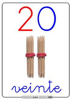 3º decena Numbers Preschool, Preschool Classroom, Kids Background, Montessori Math, Maila, Bilingual Education, School Subjects, Math Worksheets, Teaching Math