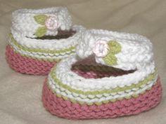 Cute baby booties, loom knit pattern. I enjoy my knifty knitter.