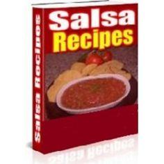 'Salsa Recipes, Margaritas and Sangria   book---CD