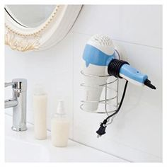 blow dryer holder