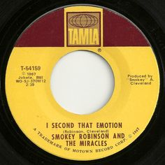 I Second That Emotion - Smokey Robinson And The Miracles great lyrics.giving you my lifetime of devotion for sure Music Music, Music Love, Good Music, Song Words, Love Songs Lyrics, 45 Records, Vinyl Records, Smokey Robinson Songs, I Second That Emotion
