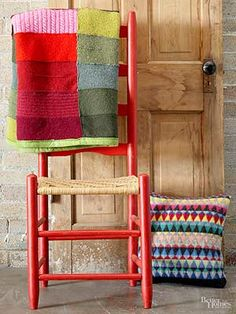 Recycle Sweaters: Make a Throw or Pillow...Instructions for making!