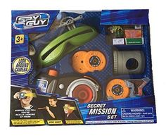 Spy Guy 10 Piece Toy Secret Mission Set With Look Around Camera ** Click image to review more details.Note:It is affiliate link to Amazon.