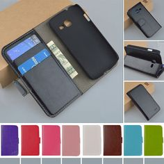 JR PU Leather Stand Flip Case For Samsung Galaxy Star Plus / Pro GT-S7262 S7260 S7262 Cover Book style Phone Bag Cases