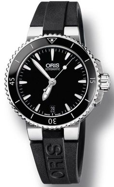 Oris Watch Aquis Date Lady Rubber #bezel-fixed #bracelet-strap-rubber #brand-oris #case-depth-11-9mm #case-material-ceramic #case-width-36mm #date-yes #delivery-timescale-call-us #dial-colour-black #gender-ladies #luxury #movement-automatic #official-stockist-for-oris-watches #packaging-oris-watch-packaging #style-divers #subcat-aquis #supplier-model-no-01-733-7652-4154-07-4-18-34 #warranty-oris-official-2-year-guarantee #water-resistant-300m