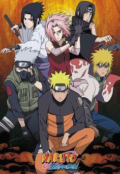 Anime Naruto, Naruto E Sakura, Naruto Uzumaki Art, Naruto Shippuden Characters, M Anime, Naruto Kakashi, Poster Naruto, Poster Anime, Naruto And Sasuke Wallpaper