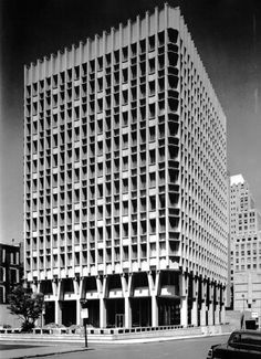 Blue Cross Blue Shield Building, Boston, Massachusetts, 1957-60  (Paul Rudolph)