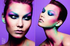 Colour and light- stunning makeup by Maria Belt