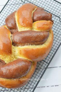 Vanille and chocolate braid bread. Beignets, Braided Bread, Piece Of Bread, Croissant, Sweet Bread, Pretzel Bites, Bread Baking, Hot Dog Buns, Allrecipes
