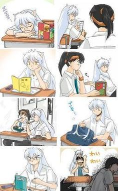 InuYasha and Kouga...lol
