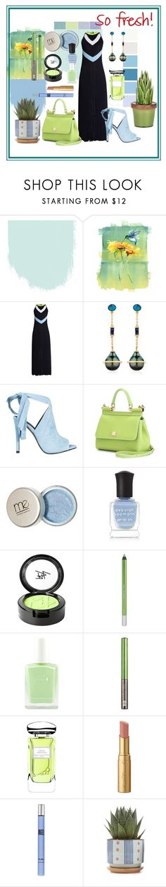 """Get Fresh"" by kelly-floramoon-legg ❤ liked on Polyvore featuring Versace, BIBI VAN DER VELDEN, Kendall + Kylie, Dolce&Gabbana, Deborah Lippmann, Beauty Is Life, Urban Decay, By Terry, Too Faced Cosmetics and Thierry Mugler"