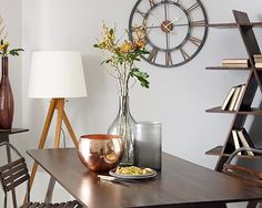 Large Wall Clocks For Living Room   Large Metal Wall Clock A Stunning Large  Metal Wall. Designer ...