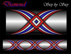 Diamond Cross Wrap Pattern step by step Custom Rod Building Cross Wrap Pattern Facebook Page