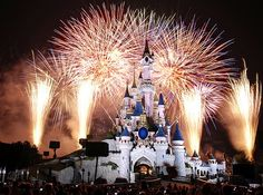 Fireworks at Disneyland every night at 9:00 PM...we could hear them from home in Huntington Beach!