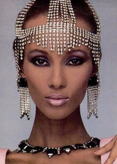 Iman. Via: SUPERMODEL SHRINE