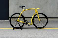 viks: steel tube fixed gear commuter bike