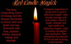 Red candle magic