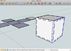 BoxMaker app generates plans for laser-cut boxes, given custom dimensions