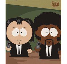 Grandes Filmes em versão South Park