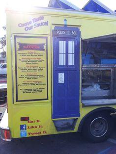 tardis food truck