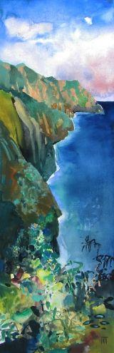 Na Pali, painting by artist Randall David Tipton