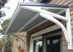 DIY AWNING -  We so need an awning over our side entry so we don't get soaked while fumbling for keys in the rain