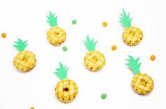 DIY Pineapple Donuts www.onebroadsjourney.com