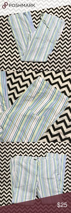 fa89bb927fd44 J. Crew stripe pj bottoms Size xs in mint condition J. Crew Intimates &