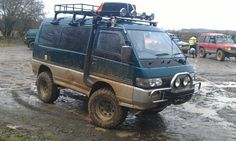 Mitsubishi Delica Owners Club UK™ :: View topic - New Paint