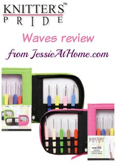 Knitter's Pride Waves crochet hook review & giveaway!