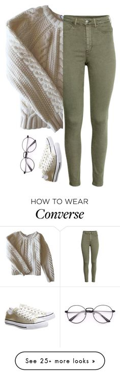 """Untitled #234"" by thevirginharry on Polyvore featuring Anine Bing and Converse"