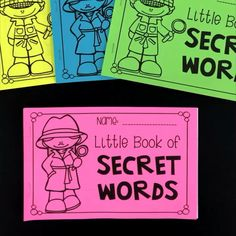 words little book Students write the beginning sound of the pictures to work out the secret cvc and long vowel words.Students write the beginning sound of the pictures to work out the secret cvc and long vowel words. Teaching Phonics, Preschool Learning Activities, Teaching Aids, Teaching Reading, English Lessons For Kids, The Secret Book, Cvc Words, Kindergarten Literacy, Little Books
