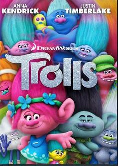 """Trolls [videorecording] / DreamWorks Animation production. wasn't sure they'd do my childhood memory justice, but they did. Incredible voices. Makes me want to sing, """"Memories light the corners of my mind..."""""""