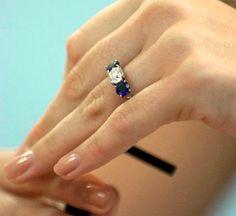 Jenna Bush's engagement ring.