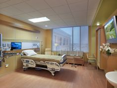 Patient Room Design at the Soin Medical Center