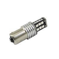 2016 newest P21w 1156 ba15s  auto LED lamp 12v car light  stop brake tail bulb 15 SMD 3528  canbus xenon lamp