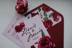 Приглашения для Дениса и Марии