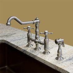 Amazing Kingston Brass Kitchen Faucet Endearing Buy Online Whitehaus  Whttscr39773Spr Widespread Goose Neck Inspiration Design